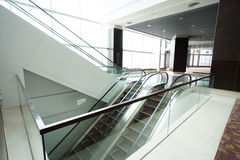 nowożytny budynku eskalator Obraz Stock