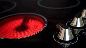 Nowożytny ceramiczny cooktop fotografia stock