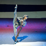 nowożytny chiński tancerz Zdjęcie Stock