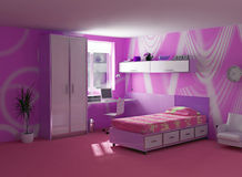 nowożytny childroom wnętrze
