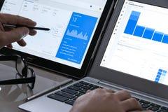 Nowożytny Cyfrowego marketing obrazy stock