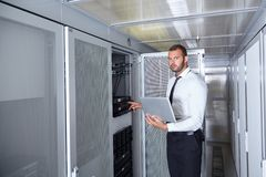 Nowożytny datacenter serweru pokój Obraz Stock