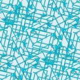 Nowożytny deseniowy bezszwowy wektorowy tło Równina kolory - łatwi recolor ilustracja wektor