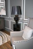 Nowożytny domowy żywy izbowy meble Fotografia Stock