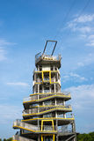 Nowożytny doskakiwania wierza przy Chiang Raja prowincją Fotografia Royalty Free