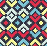 Nowożytny elegancki Geometryczny bezszwowy wzór royalty ilustracja
