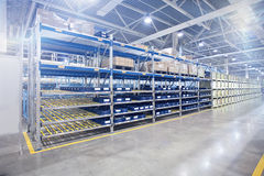 Nowożytny fabryka magazyn w warsztacie Fotografia Stock
