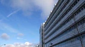 nowożytny fasadowy budynek zdjęcia stock