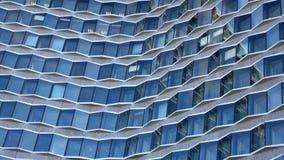 nowożytny fasadowy budynek fotografia stock