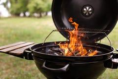 Nowożytny grilla grill obrazy stock
