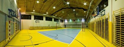 Nowożytny gym wnętrze Zdjęcia Stock