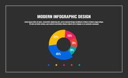 Nowożytny infographic projekt ilustracja wektor
