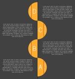 Nowożytny, jasny szablon, Może używać dla infographics, strony internetowe e ilustracja wektor