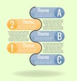 Nowożytny, jasny szablon, Może używać dla infographics, strony internetowe e ilustracji