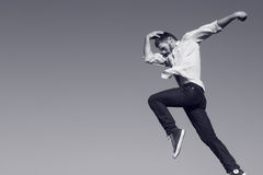 nowożytny jazzowy skok Zdjęcie Stock