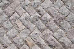 Nowożytny kamiennej ściany zakończenie up jako tło Zdjęcia Royalty Free
