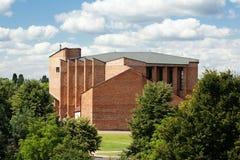 Nowożytny kościół w Częstochowskim. Fotografia Stock