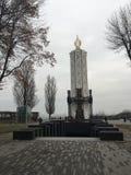 Nowożytny kościół w Kiev zdjęcie stock