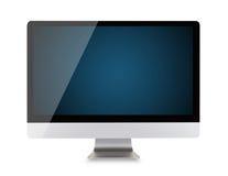 Nowożytny komputerowy pokaz Obrazy Stock