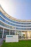 Nowożytny kwater głównych budować Siemens Ag Zdjęcia Stock