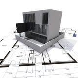nowożytny loft projekt ilustracja wektor