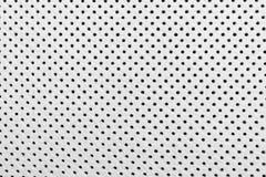 Nowożytny luksusowy Samochodowy białej skóry wnętrze Część dziurkowaci rzemienni samochodowego siedzenia szczegóły Biały Dziurkow obrazy stock