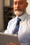 nowożytny mężczyzna starzejący się środek Obraz Royalty Free