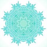 Nowożytny mandala lub płatka śniegu projekt Fotografia Stock