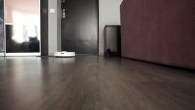 Nowożytny mechaniczny próżniowy czysty w korytarzu zbiory wideo