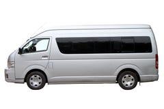 Nowożytny minibus zdjęcie stock