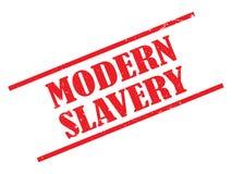 nowożytny niewolnictwo znaczek royalty ilustracja