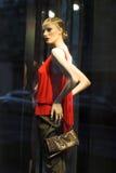 Nowożytny odzież sklepu okno Fotografia Stock