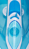 Nowożytny parowego żelaza zbliżenie na widok zdjęcie royalty free