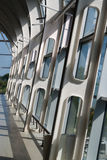 Nowożytny pasażerski terminal lotnisko zdjęcie royalty free