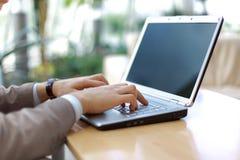 nowożytny pisać na maszynie osoby Obraz Stock