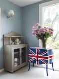 Nowożytny pokój dzienny Zdjęcia Royalty Free