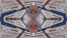 Nowożytny projekt drewniana struktura ilustracji
