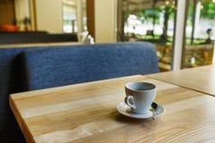 Nowożytny restauraci, baru lub kawiarni wnętrze, Zdjęcia Stock