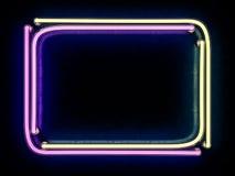 Nowożytny retro billboardu tło z miejscem dla twój teksta 3D r Obrazy Royalty Free
