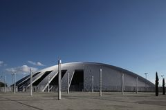 nowożytny sala sport Zdjęcie Royalty Free