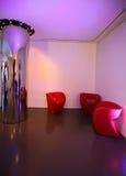 nowożytny sala wnętrze Obrazy Stock