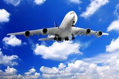 Nowożytny samolot obrazy stock