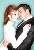 nowożytny seksowny ślub Fotografia Royalty Free