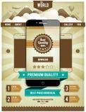 Nowożytny smartphone Zdjęcie Stock