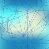 Nowożytny struktury molekuły DNA Atom Molekuły i komunikaci tło dla medycyny, nauka, technologia, chemia ilustracji