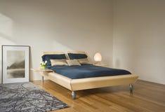 nowożytny sypialni wnętrze Obraz Stock
