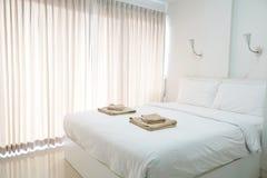 Nowo?ytny sypialni wn?trze luksusu dom zdjęcia stock