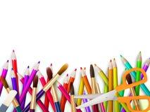 Nowożytny szkolny tło z copyspace EPS10 Obrazy Stock