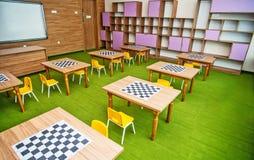 Nowożytny szkolny wnętrze fotografia royalty free