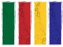 nowożytny sztandaru grunge ilustracja wektor